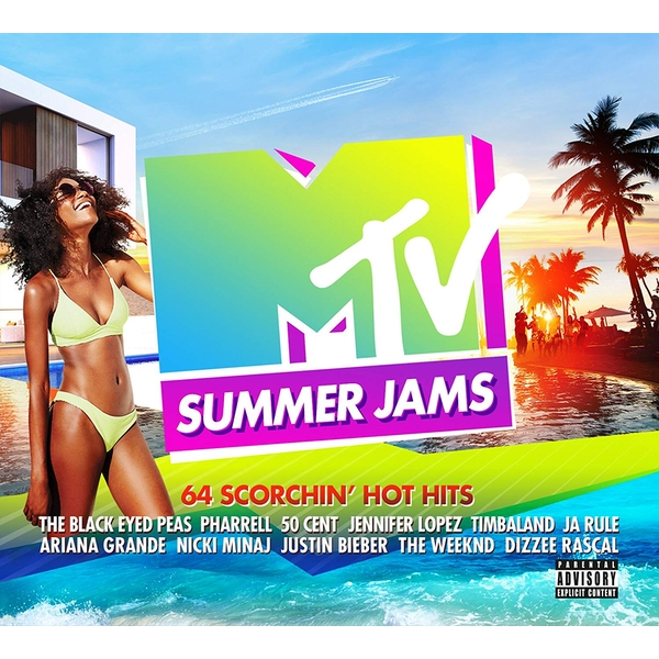 MTV - Summer Jams CD