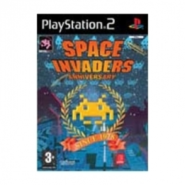 Ex-Display Space Invaders Anniversary Game PS2 Used - Like New