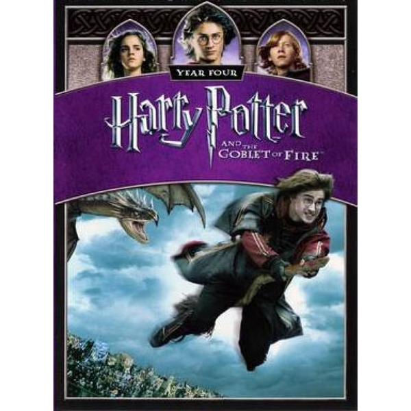 Harry Potter And The Goblet Of Fire 2005 Dvd Ozgameshop Com