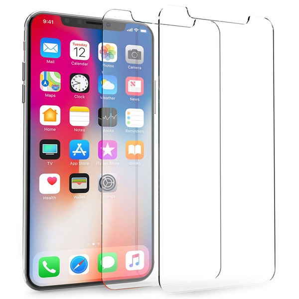 Compare prices with Phone Retailers Comaprison to buy a Apple iPhone X Glass Screen Protectors - Twin Pack