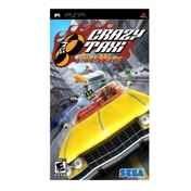 Crazy Taxi Fare Wars Game PSP