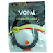 VCOM 3.5mm (M) Stereo Jack to 3.5mm (M) Stereo Jack 1.8m Black Retail Packaged Cable - Image 2
