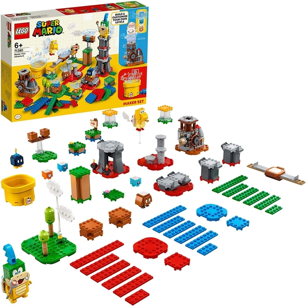 Lego Super Mario Master Your Adventure Maker Construction Set