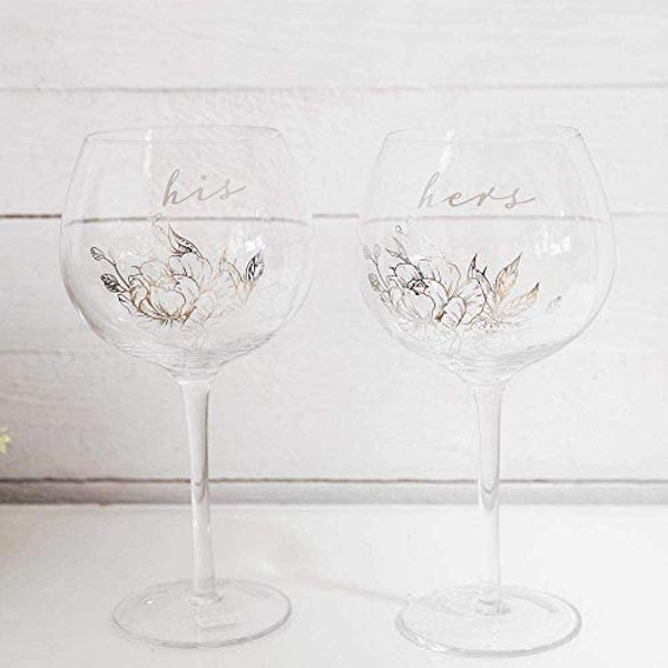 His & Hers Gin Glass Set