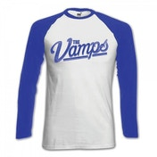 The Vamps McVey White Raglan Baseball Shirt Small