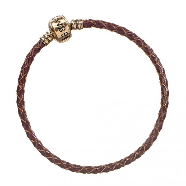 Harry Potter Brown Leather Charm Bracelet 17cm