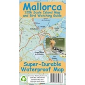 Mallorca Super-Durable Map and Bird Watching Guide