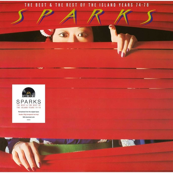 Sparks - The Best Of The Rest Of - Red Translucent  Vinyl