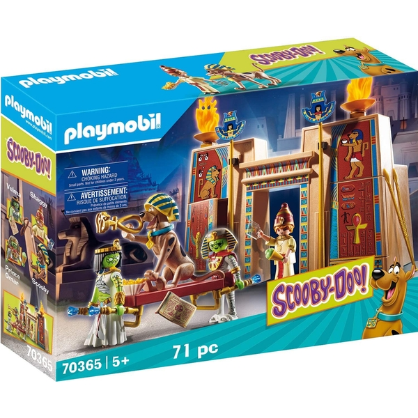 Playmobil Scooby Doo! Adventure in Egypt - Image 1