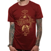 Harry Potter - Yule Ball Men's Small T-Shirt - Red