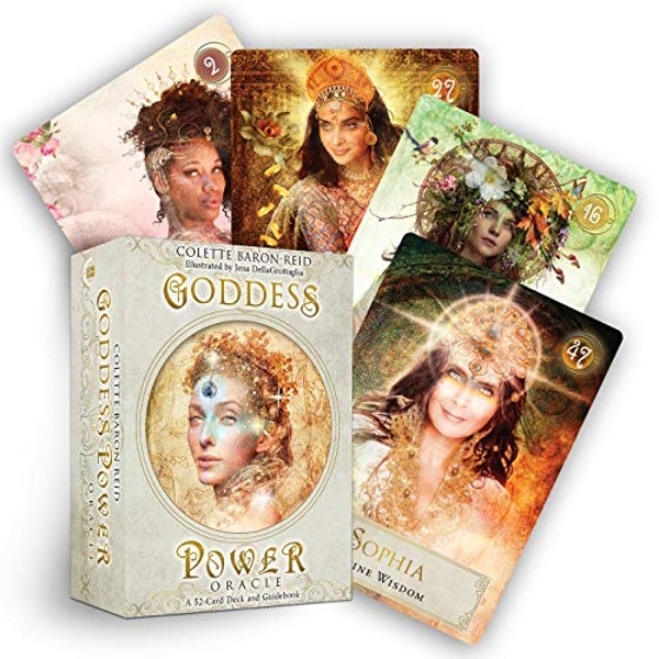 Goddess Power Oracle (Deluxe Keepsake Edition) Deck and Guidebook Cards 2019