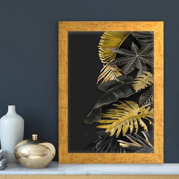AC12272171953 Multicolor Decorative Framed MDF Painting