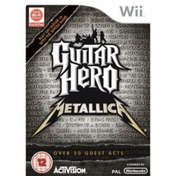 Guitar Hero Metallica Solus Game Wii