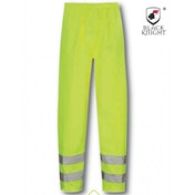Black Knight Medium Hawk High Visibility Trousers - Yellow