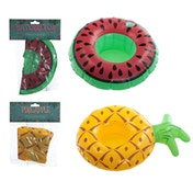 Funky Tropical Inflatable Drinks Holder (1 Random Supplied)