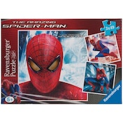 Ex-Display Spider-Man In Action 3 Box Puzzle Set Used - Like New