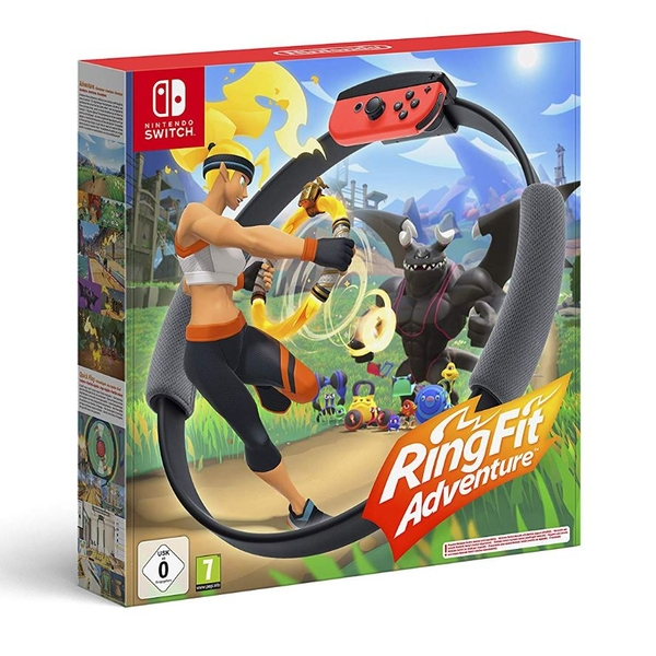 Ring Fit Adventure Nintendo Switch Game [Damaged Packaging]