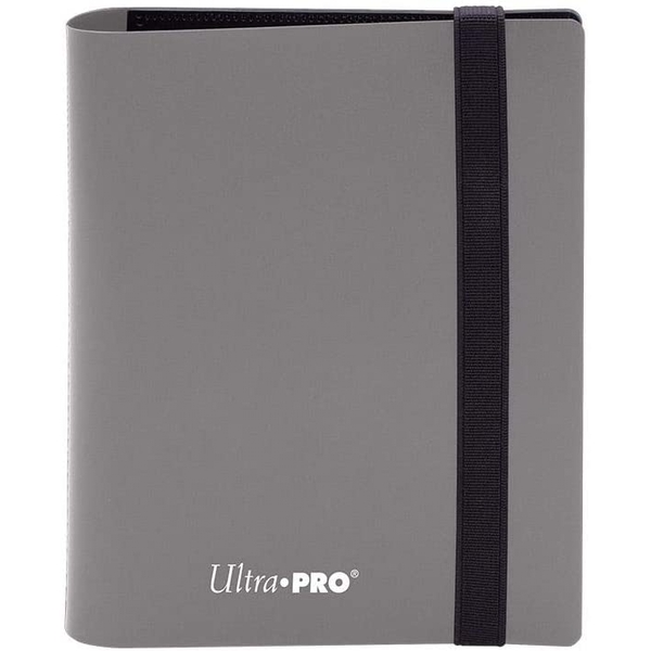 Ultra Pro Eclipse 2-Pocket Pro-Binder - Smokey Grey
