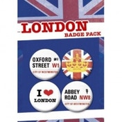 London Badge Pack Oxford Street & Abbey Road