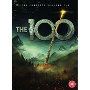 The 100 Season 1-4 DVD