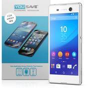 YouSave Accessories Sony Xperia M5 Screen Protector X 5 - Clear