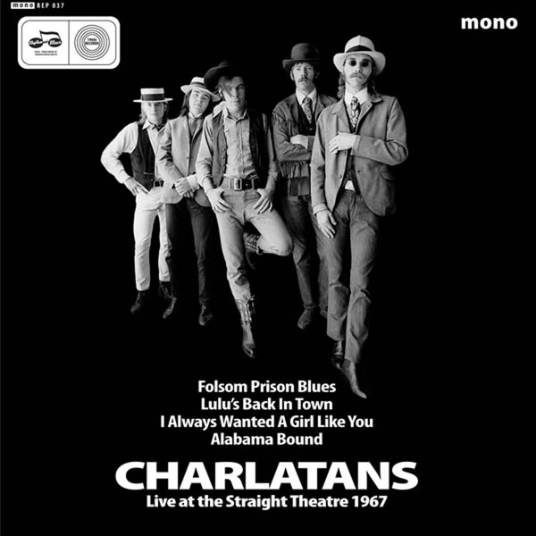 The Charlatans ‎– Live At The Straight Theatre 1967 Vinyl