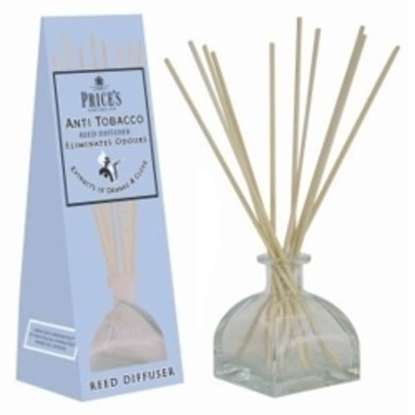 Price's Candles Reed Diffuser Anti Tobacco