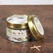 Black Pomegranate (Fragrant Orchard Collection) Gold Tin Country Candle - Image 2