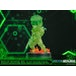 Snake SD Stealth Camo Neon Green (Metal Gear Solid) First4Figures Collectable PVC Figurine - Image 5