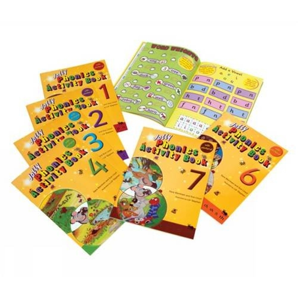 Jolly Phonics Activity Books 1-7: in Precursive Letters (BE) by Sue Lloyd, Sara Wernham (Paperback, 2010)