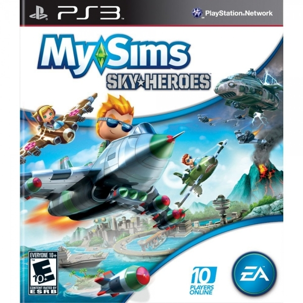 MySims Sky Heroes Game PS3 (#)