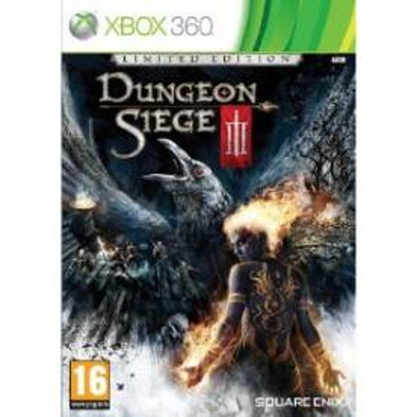 Dungeon Siege III 3 Limited Edition Game Xbox 360