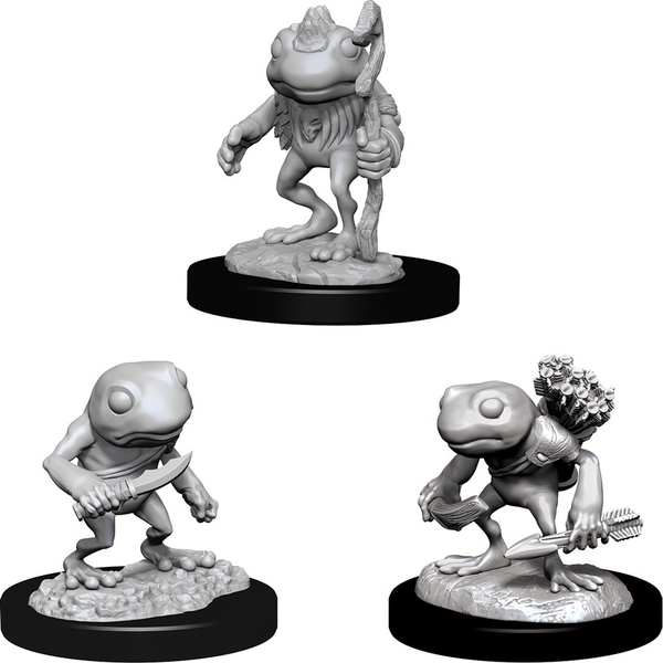 Dungeons & Dragons Nolzur's Marvelous Unpainted Miniatures (W10) Grung