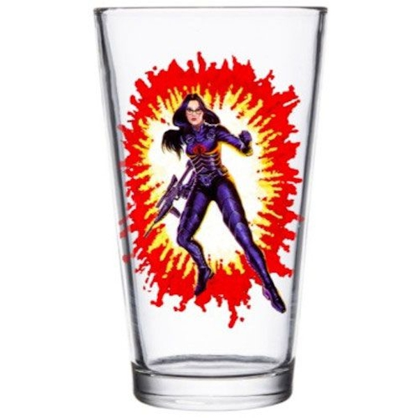 G.I. Joe Pint Glass Baroness
