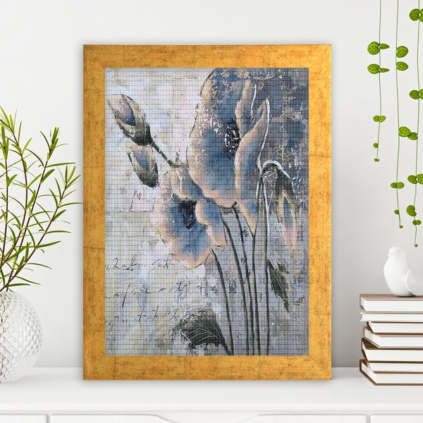 AC1061853662 Multicolor Decorative Framed MDF Painting