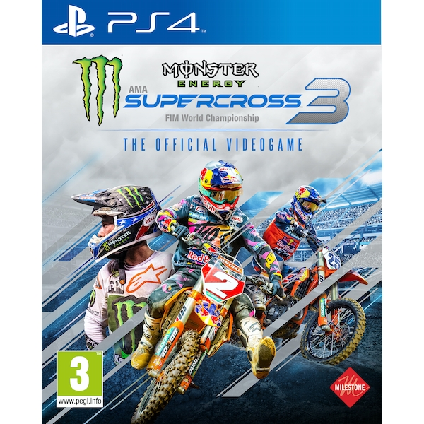 Monster Energy Supercross 3 PS4 Game - Image 1