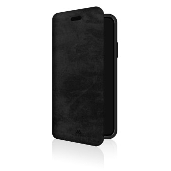 Black Rock - The Statement Booklet for Apple iPhone Xs, black (1 ACCESSORES)