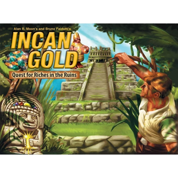 Incan Gold 3rd Edition Board Game