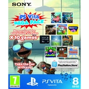 Sony PlayStation Vita 10 Game Mega Pack + 8GB Memory Card PS Vita