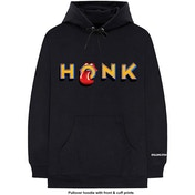 The Rolling Stones - Honk Letters Men's Large Pullover Hoodie - Black