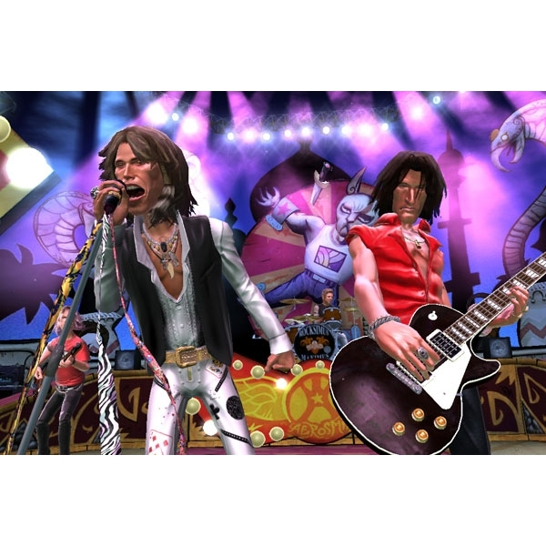 Guitar Hero Aerosmith Solus Game Xbox 360 - Image 2