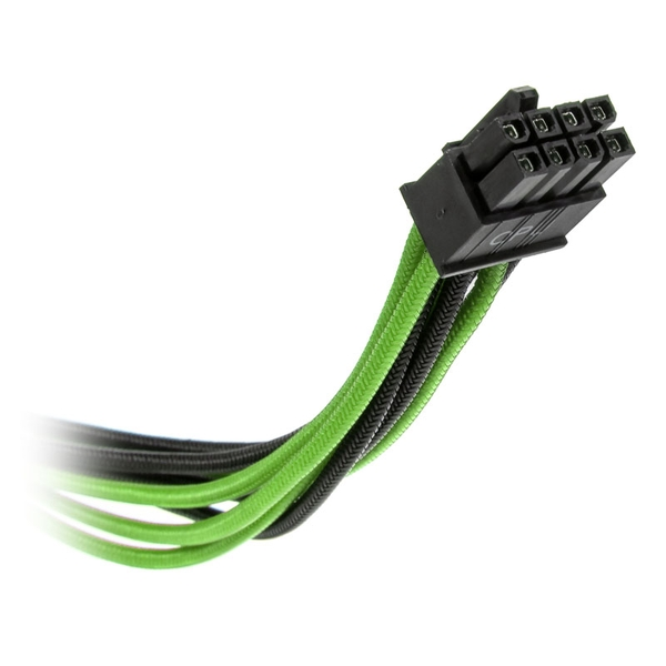 Super Flower Sleeve Cable Kit Pro - Black/Green