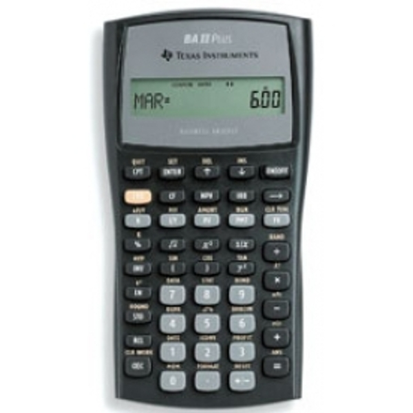 Texas Instruments IIBAPLTBL3E2 Advanced Financial Calculator