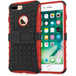 Caseflex iPhone 7 Plus Kickstand Combo Case - Red (Retail Box) - Image 2