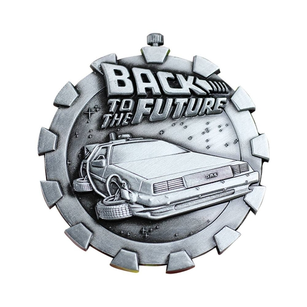 Back to the Future Medallion Logo Limited Edition