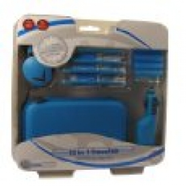 13 in 1 Travel Kit for NDS Lite and DSi Light Blue (Coolgear) DS