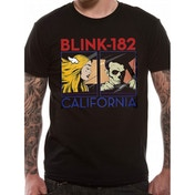 Blink 182 - California Album Men's XX-Large T-Shirt - Black