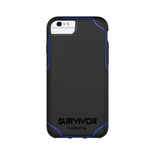 Griffin Survivor Journey Case for Apple iPhone 7/6s/6 (Black/Blue)