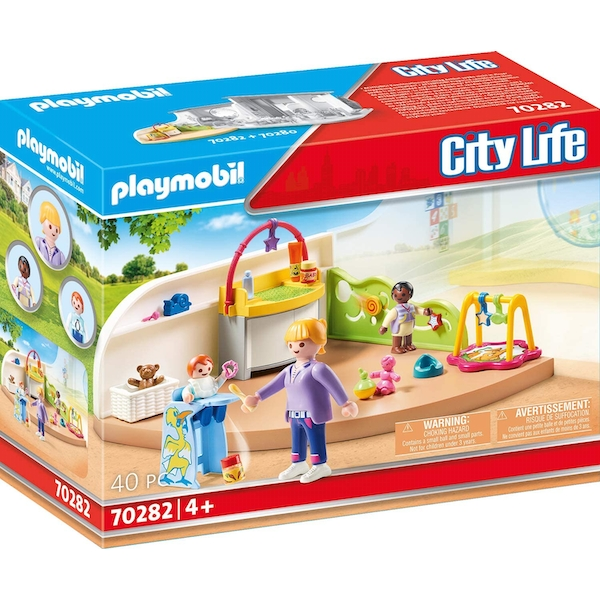 Playmobil City Life Crawling Group Playset