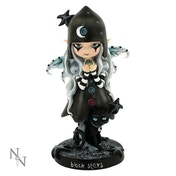Black Stars Fairy Figurine